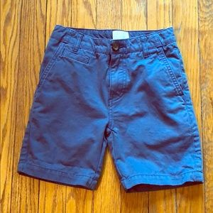 EUC Boys Mini Boden Twill Shorts Size 7Y